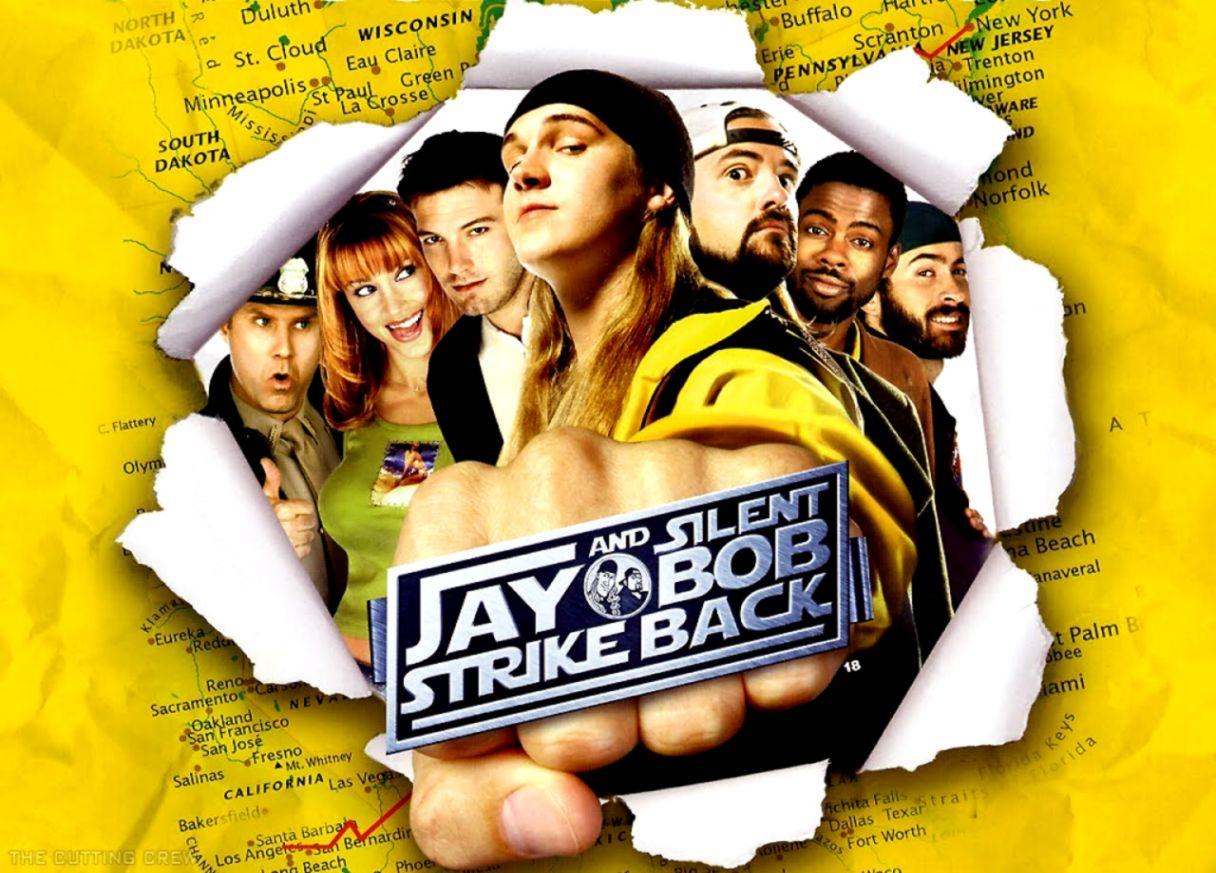Jay And Silent Bob Strike Back Poster Wallpapers Design Rumah