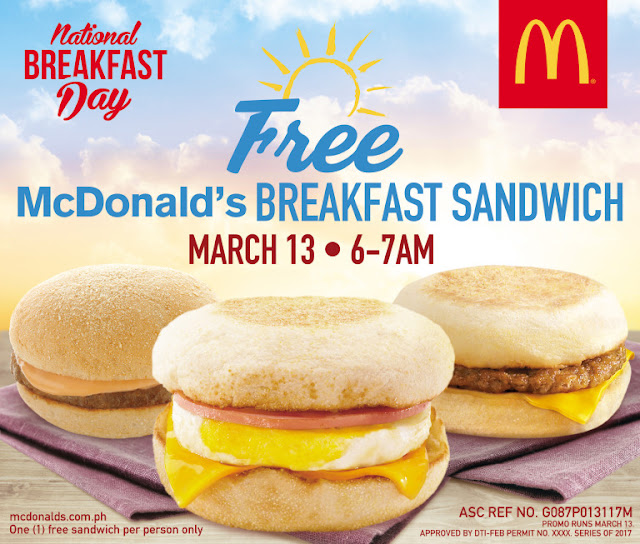 Mark your calendars for McDonald's biggest National Breakfast Day yet