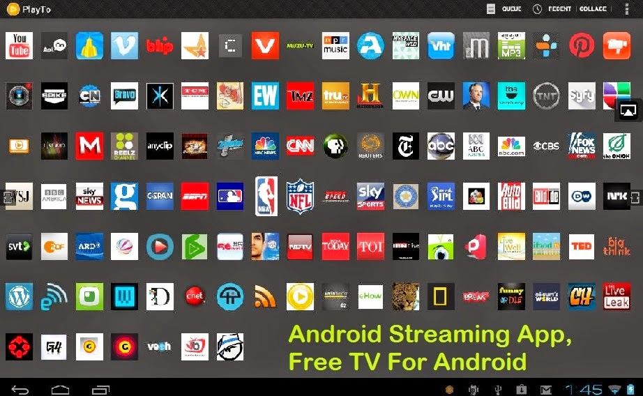 Free Android Apps: Download Free 10 Best TV App For Android Devices