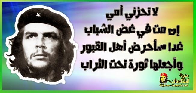 لا تحزني أمي إن مت في غض الشباب غدا سأحرض أهل القبور وأجعلها ثورة تحت التراب