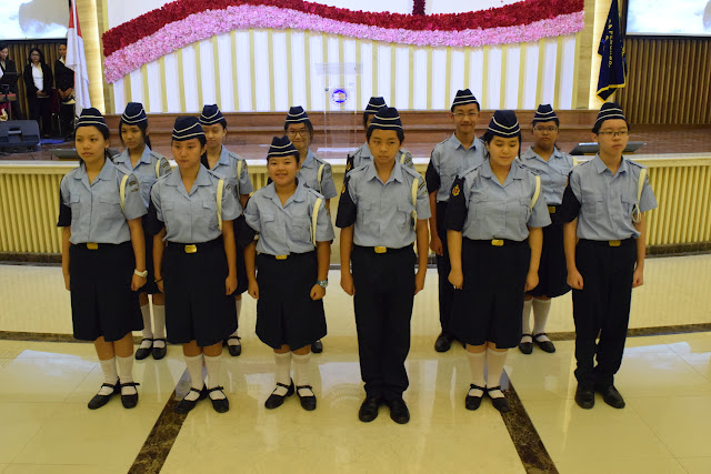 Pelantikan Boys' Brigade SMP Kristen Kalam Kudus Surakarta