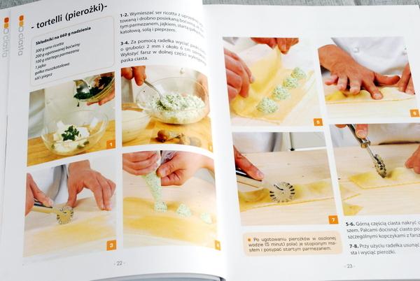 Instrukcja wykonania pierożków (tortelli)