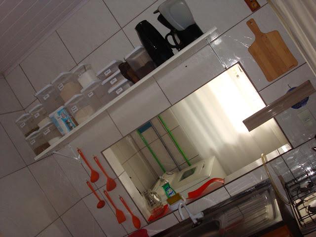 Área de trabalho da cozinha