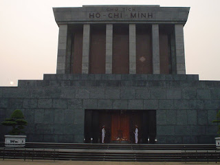 Hanoi Vietnam fotos mausoleo Ho Chi Minh