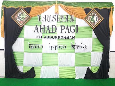 Tausiyah Ahad Pagi ke 2 Bersama KH. Abdurrohman Syamsuri (Kudus) IPNU Kirig