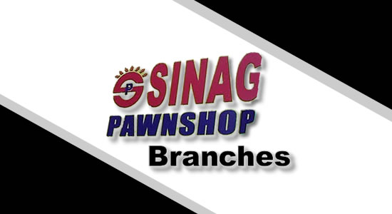 List of Sinag Pawnshop Branches nationwide