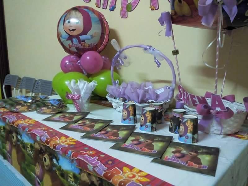 Etnaparty: Addobbi festa e decorazioni Masha e Orso
