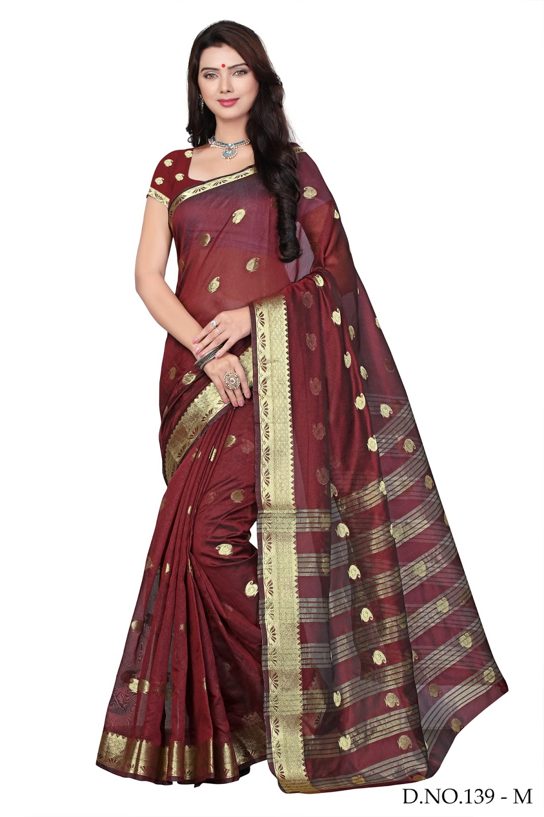 Vol 4 – Latest Exclusive Banarsi Silk Printed Saree Buy Online