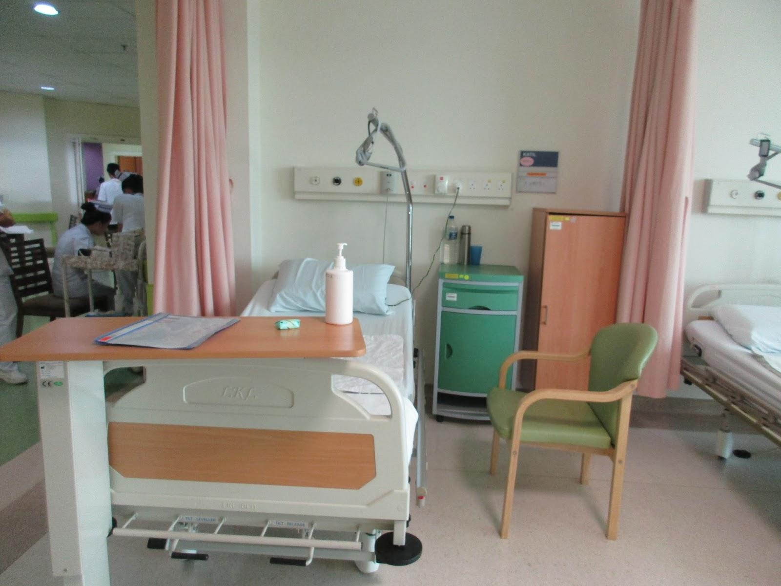 Hospital rooms at Hospital Queen Elizabeth