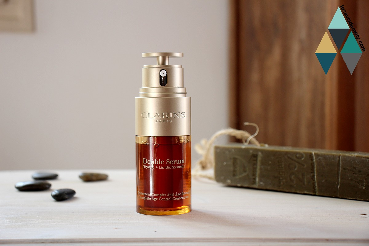 test et avis double serum anti age intensif clarins