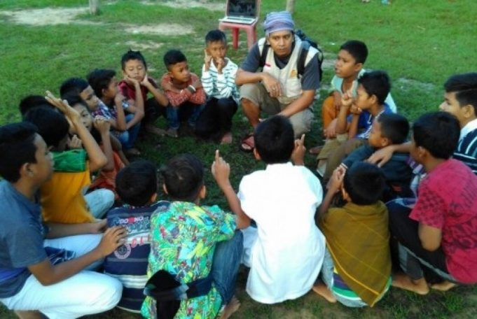Rp 65 Juta dari Kotak Amal NTB Disumbangkan untuk Rohingya