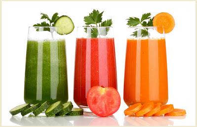 Fresh Fruit & Vegetable Juices in your Diet