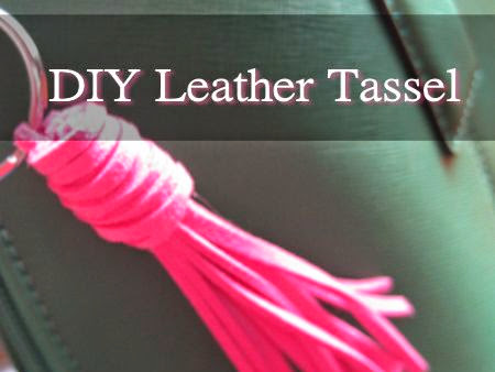 DIY a Leather Tassel...
