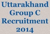 Uttarakhand Group C Recruitment 2014 image