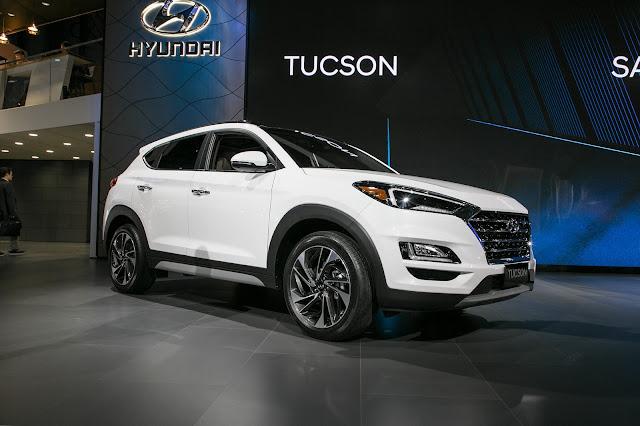 Mobil Hyundai Tucson Tawarkan 5 Atau 7 Penumpang