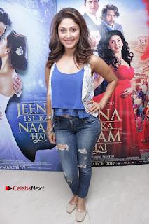 Bollywood Actress Manjari Phadnis Stills in Ripped Jeans at Film Jeena Isi Ka Naam Hai Interview  0011.jpg
