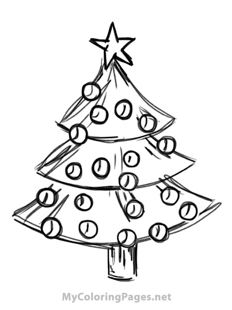 Christmas Tree Free Coloring Book Pages Find Print And Color Christmas  Book Pages For Free