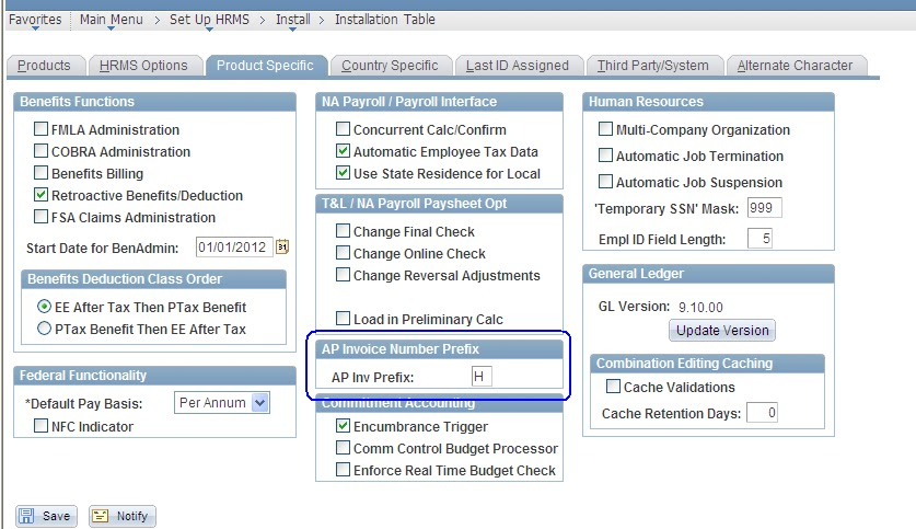 peoplesoft hcm table tables payroll ap company hr development specify extraction tax