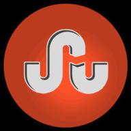 stumbleupon glowing icon