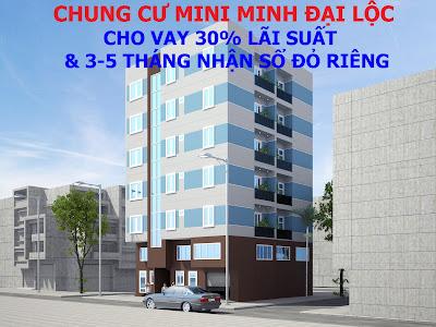 Tòa chung cư mini Minh Đại Lộc 2 hứa hẹn sẽ tạo cơn sốt trên thì trường Hà Nội