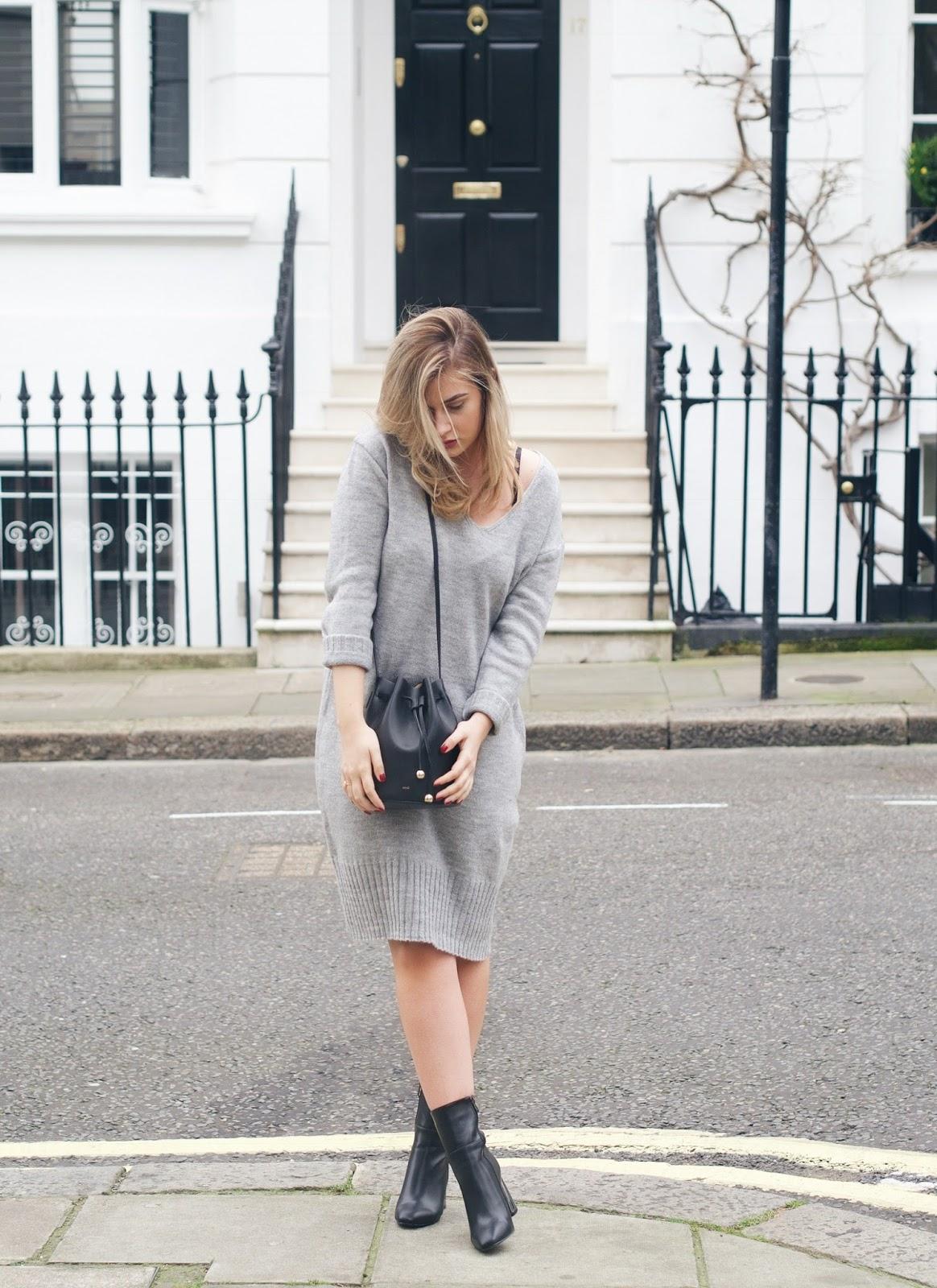 new look jumper dress
