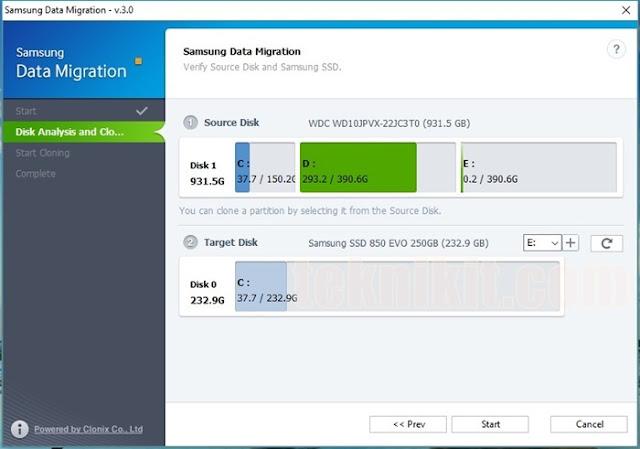 Cara Migrasi Sistem Operasi Windows dari HDD ke SSD (MUDAH dan GRATIS) Sumber: teknikit.com