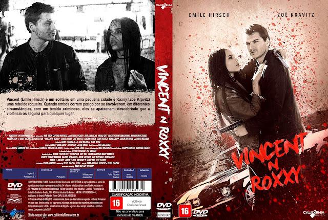 Capa DVD Vincent N Roxxy [Custom]