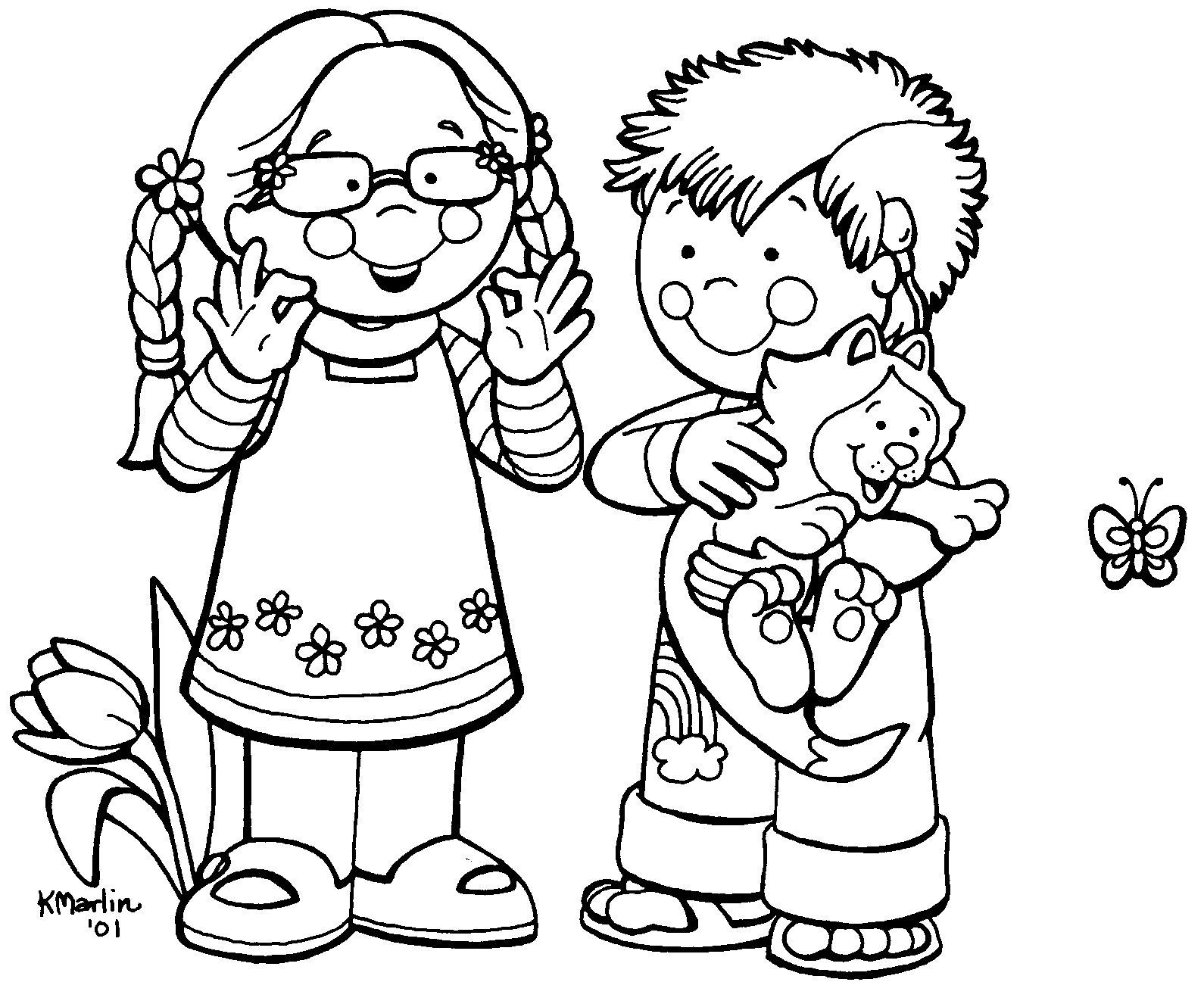 Desenhos Criancas Na Primavera Para Colorir Atividades Pedagogicas