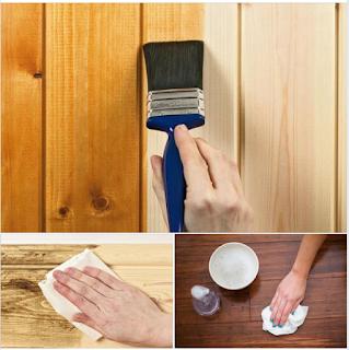 Tự tay mình bảo quản các đồ gỗ
