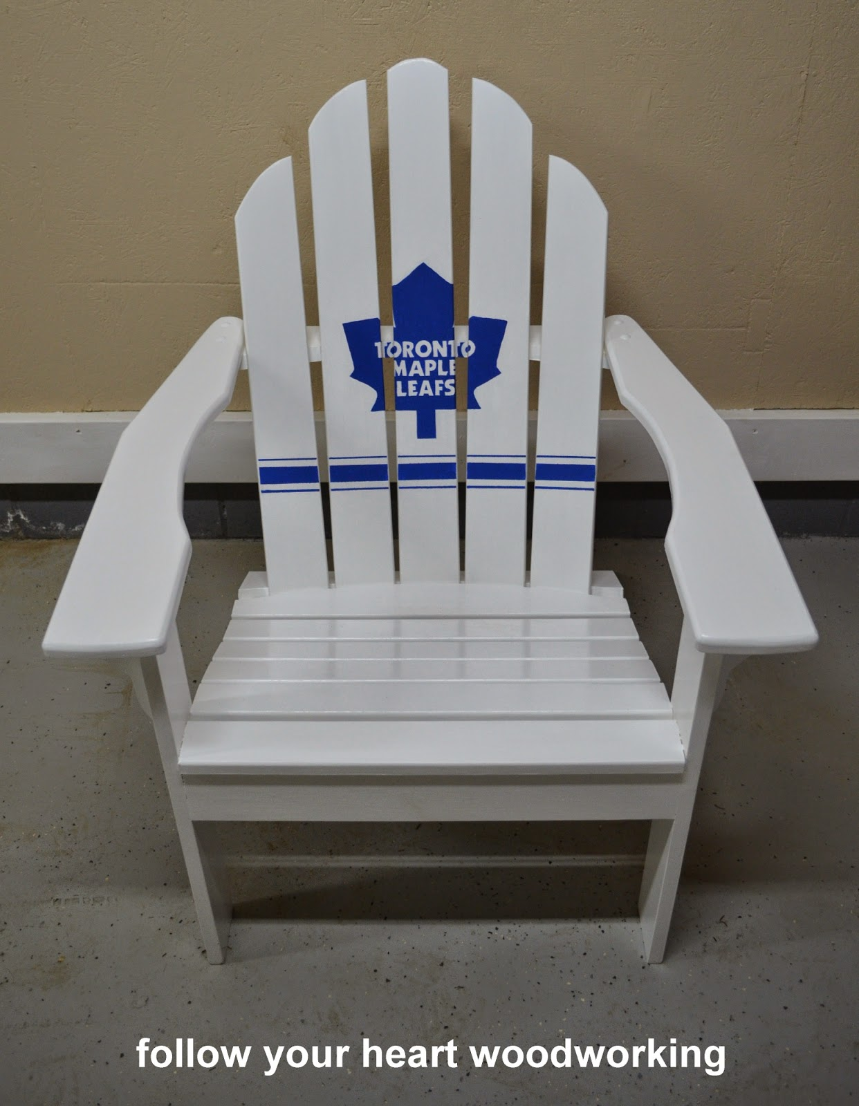Follow Your Heart Woodworking My Adirondack Chair