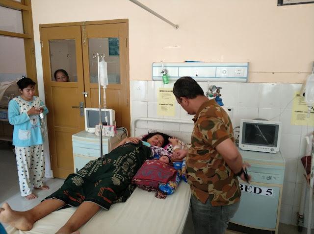 Libur Kampanye, DBR Manfaatkan Berkunjung Ke Rumah Sakit