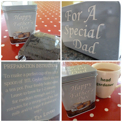 British Tea Lovers Fathers Day Gift Tin of Tea