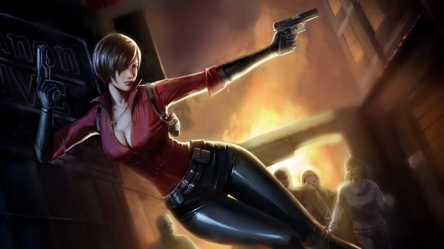 Ada Wong Resident Evil 2 4k Wallpaper 5504
