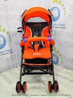 Kereta Dorong Bayi Pliko PK108 Adventure-2 Buggy Orange