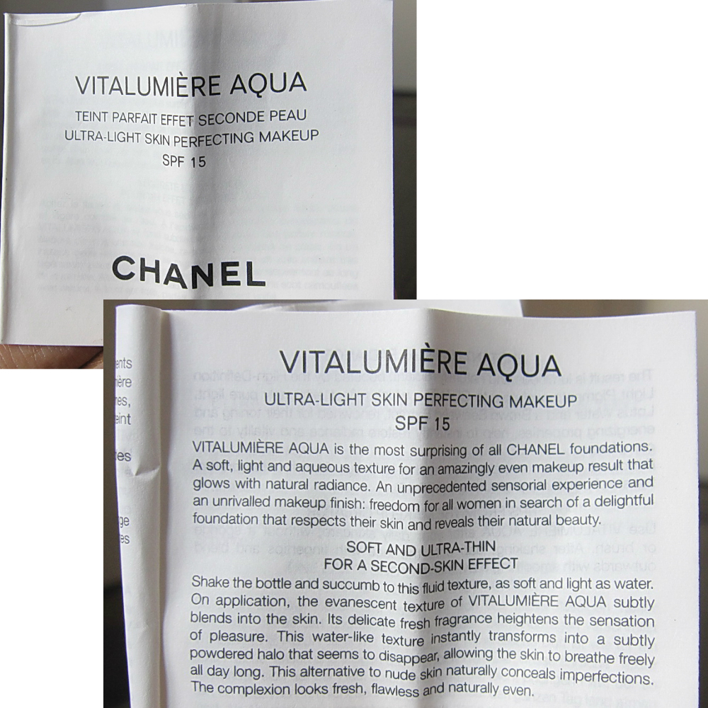 Köp chanel aqua vitalumiere foundation cdon