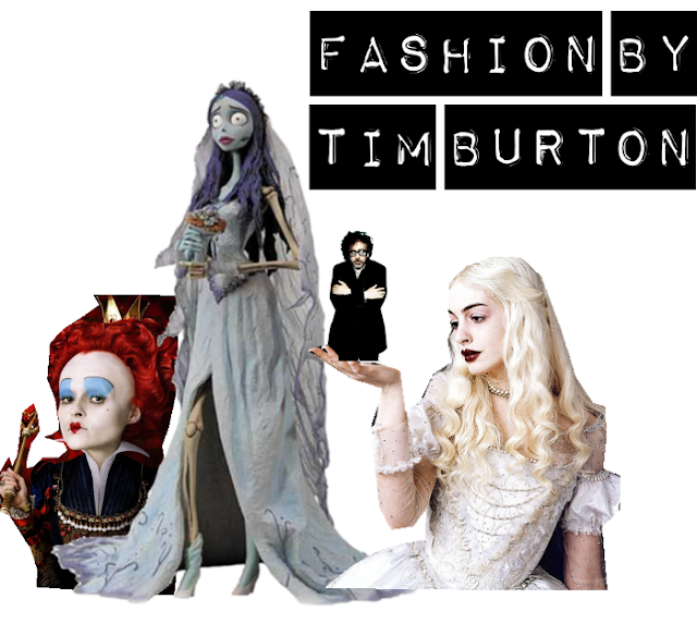 fashion by Tim Burton