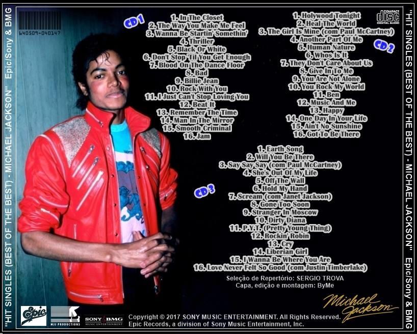 Seja Bem Vindo: HIT SINGLES (BEST OF THE BEST) - MICHAEL JACKSON
