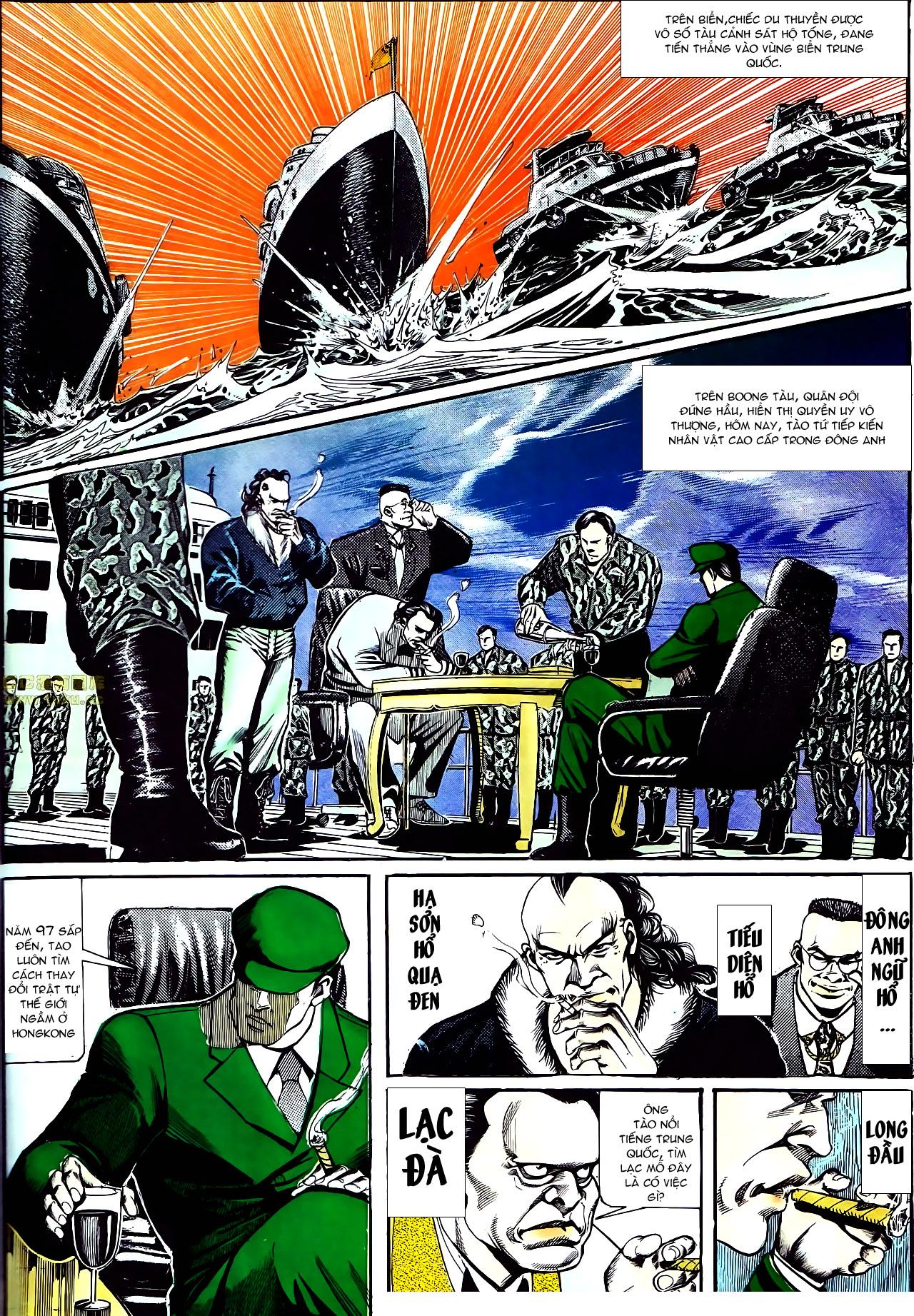 Người Trong Giang Hồ chapter 157: thiên đường địa ngục trang 14