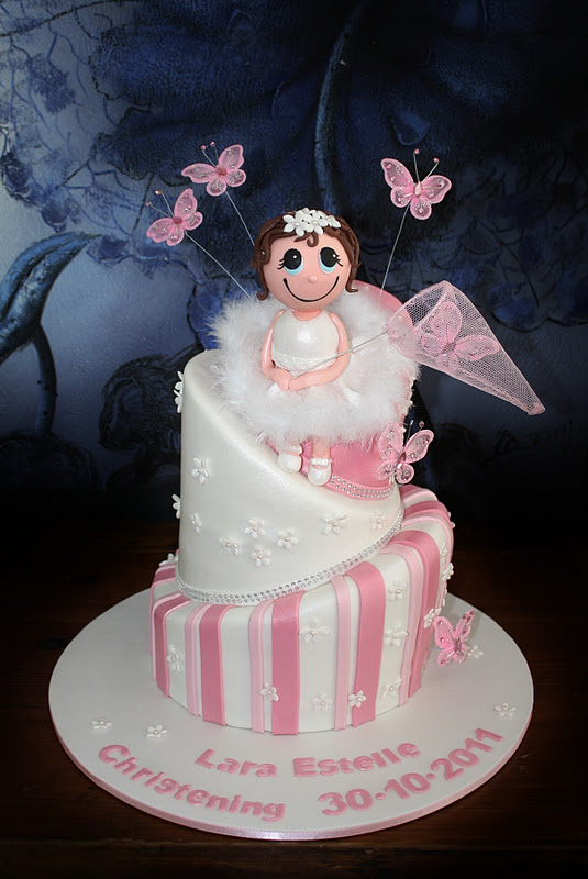 Sandys Cakes Laras Christening Angel