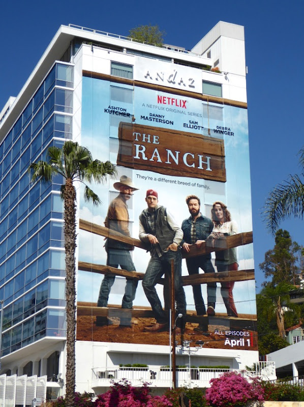 Ranch Netflix series billboard
