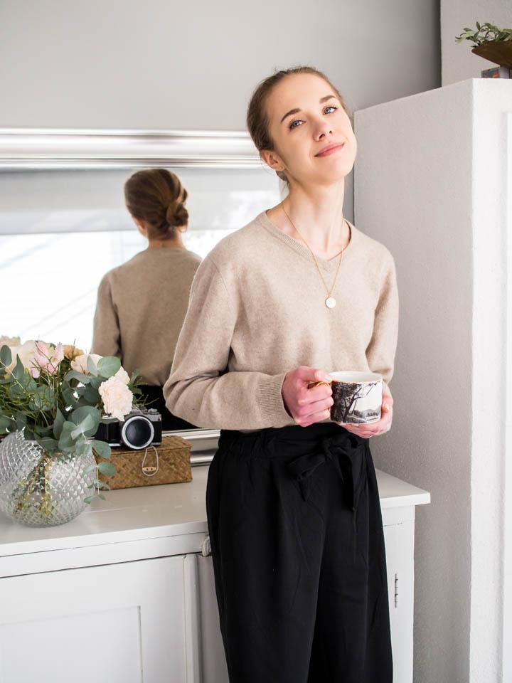 What to wear when working from home - Kotitoimisto, asuinspiraatio, muotibloggaaja