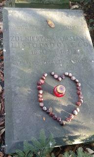 Der aelteste Friedhof in Warschau, Polen