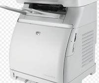 Der HP Color LaserJet CM1017 MFP ist ein relativ großer Drucker, der sich gut für eine Büroumgebung eignet, als für den Heimgebrauch