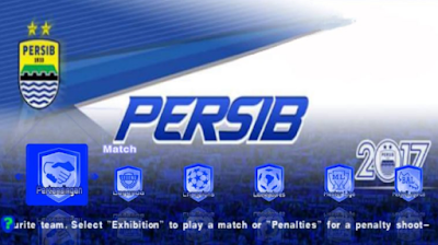 Download PES ARMY 2017 Mod Persib Gojek Traveloka Liga 1 Indonesia Terbaru