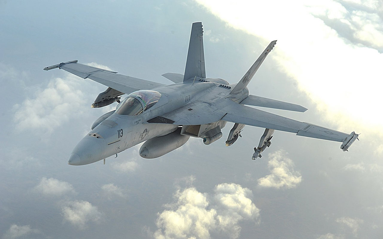 entertainment wall: boeing fa-18e super hornet wallpapers