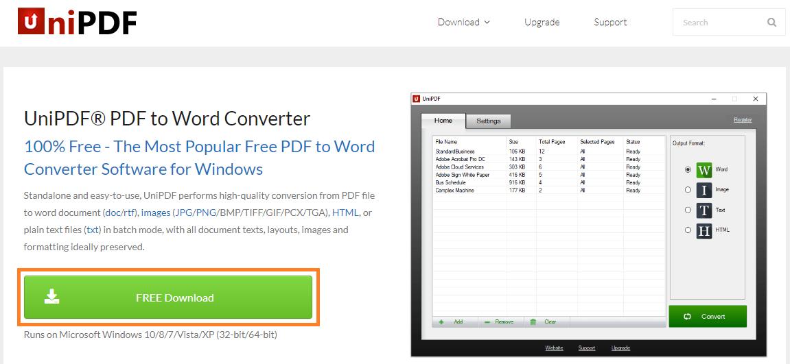 Cara mengubah PDF ke gambar dengan aplikasi UniPDF