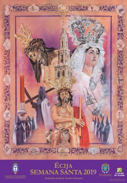 Cartel Oficial de la Semana Santa de Écija 2019