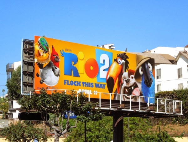 Rio 2 movie billboard