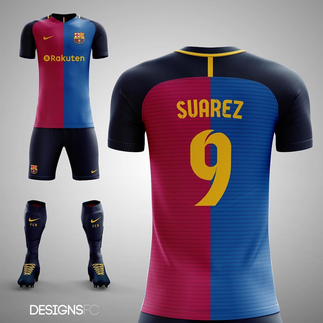 662ab0bc2 FC Barcelona half half fantasy kit looks stunning