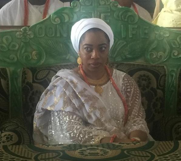 ooni ife grandma burial